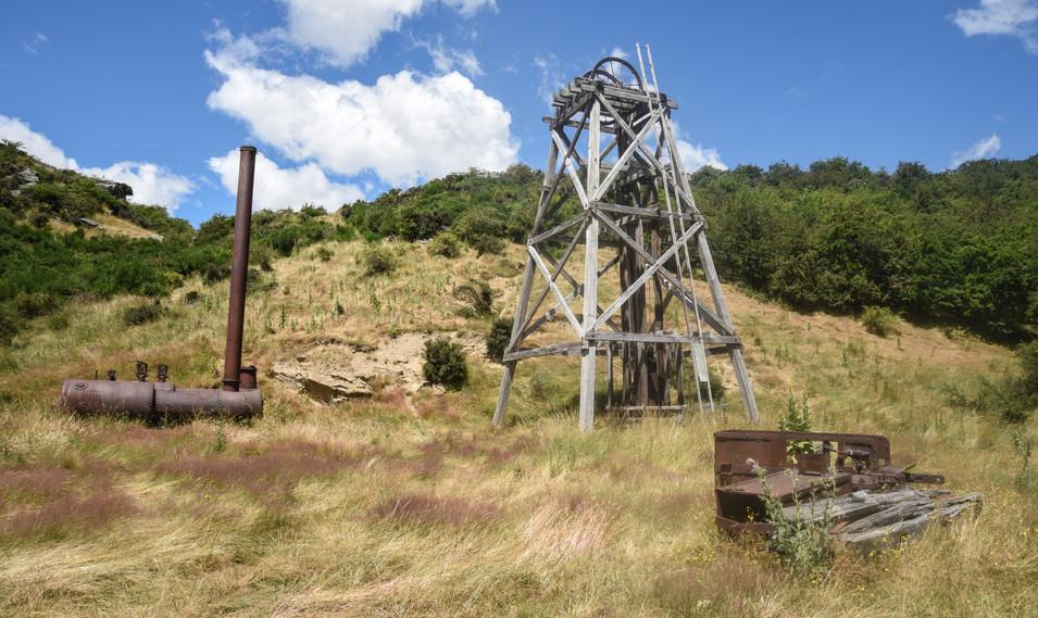 Poppet at Progress Gold Mine