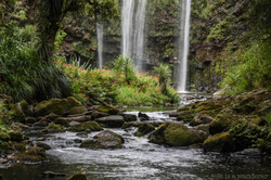 At the Bottom of Whangarei Falls