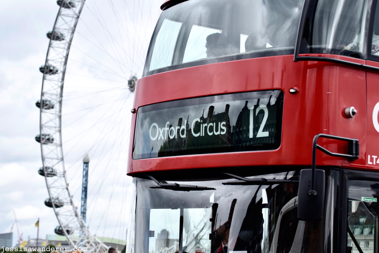 Red Bus & London Eye
