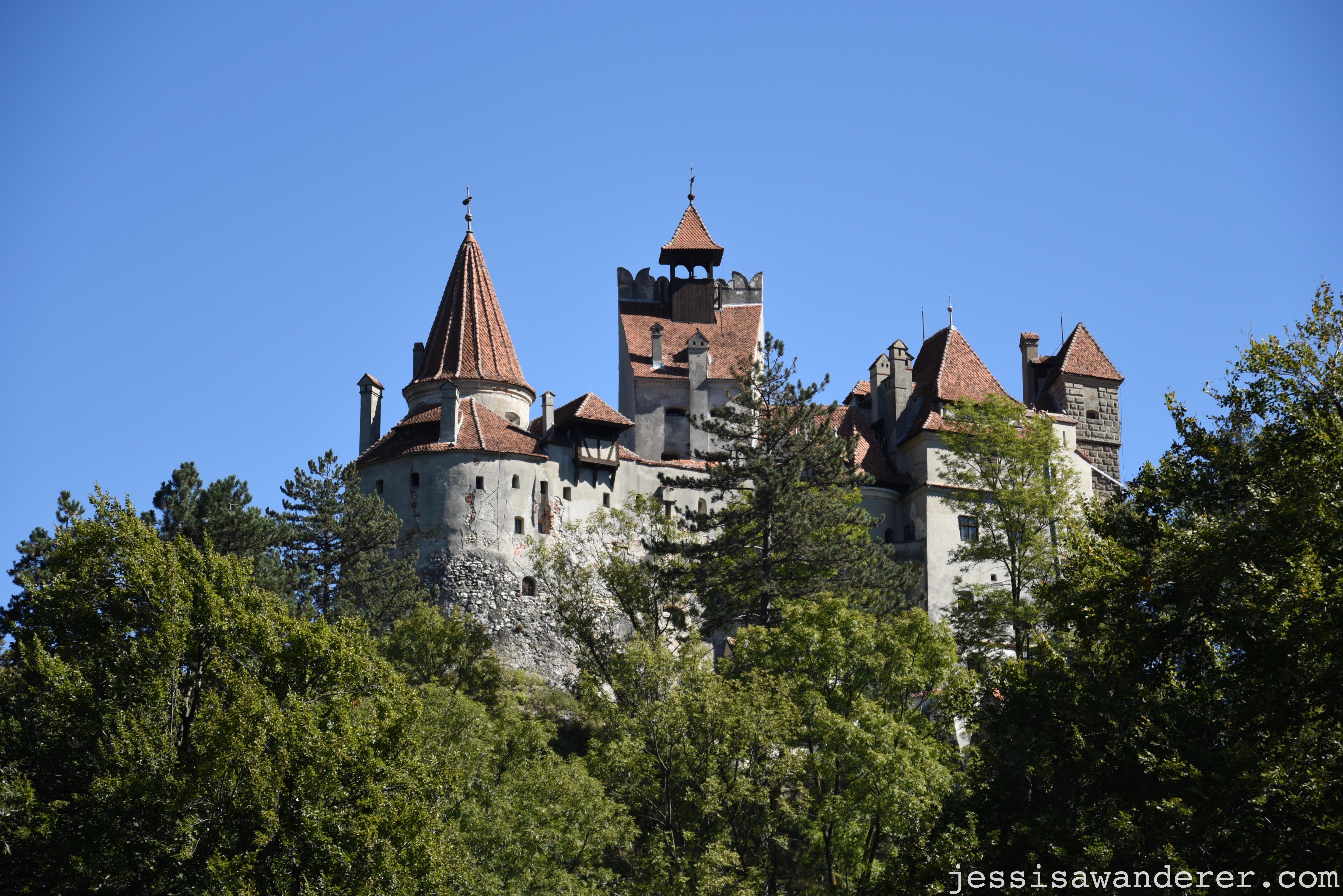 Bran Castle Reverse