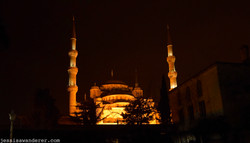 Mysterious Minarets of Blue Mosque