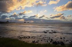 Coastal Walkway Sunset