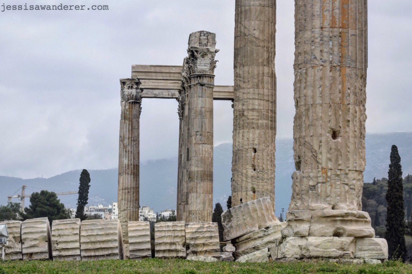 Cracked columns