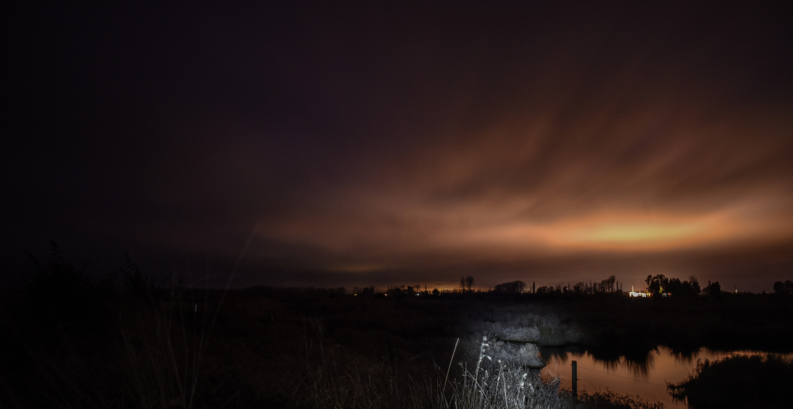 Light Pollution Reflection