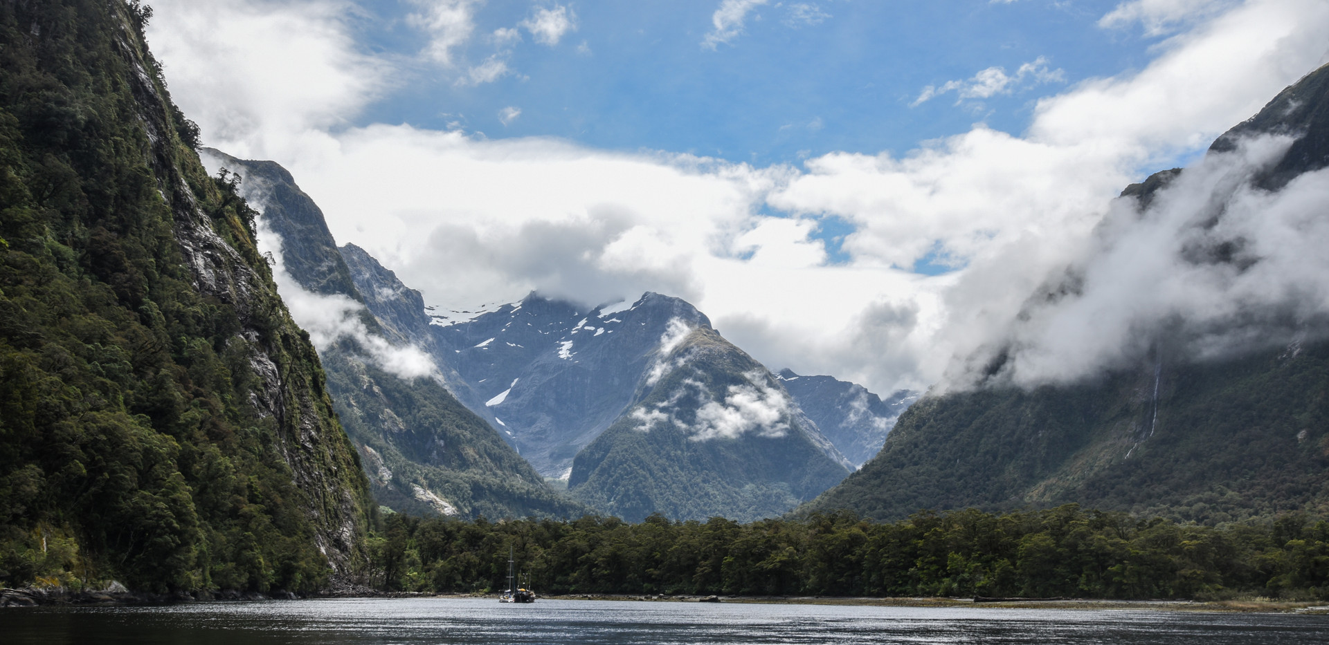 Distant Snow Peaks
