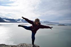 Balancing on Clifftop
