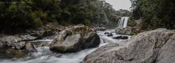 Tawhai Falls Wide