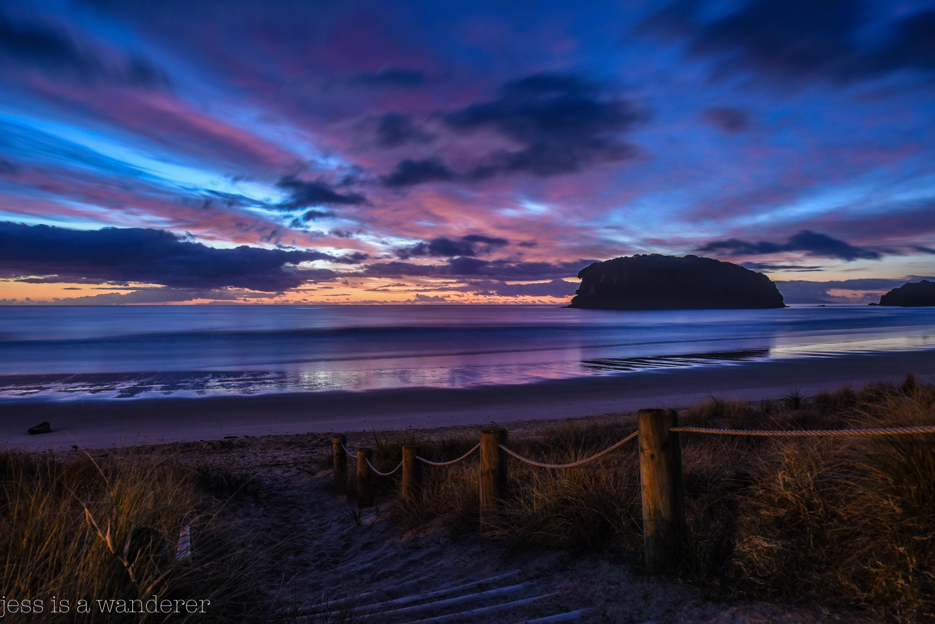 Whangamata Sunrise, NZ