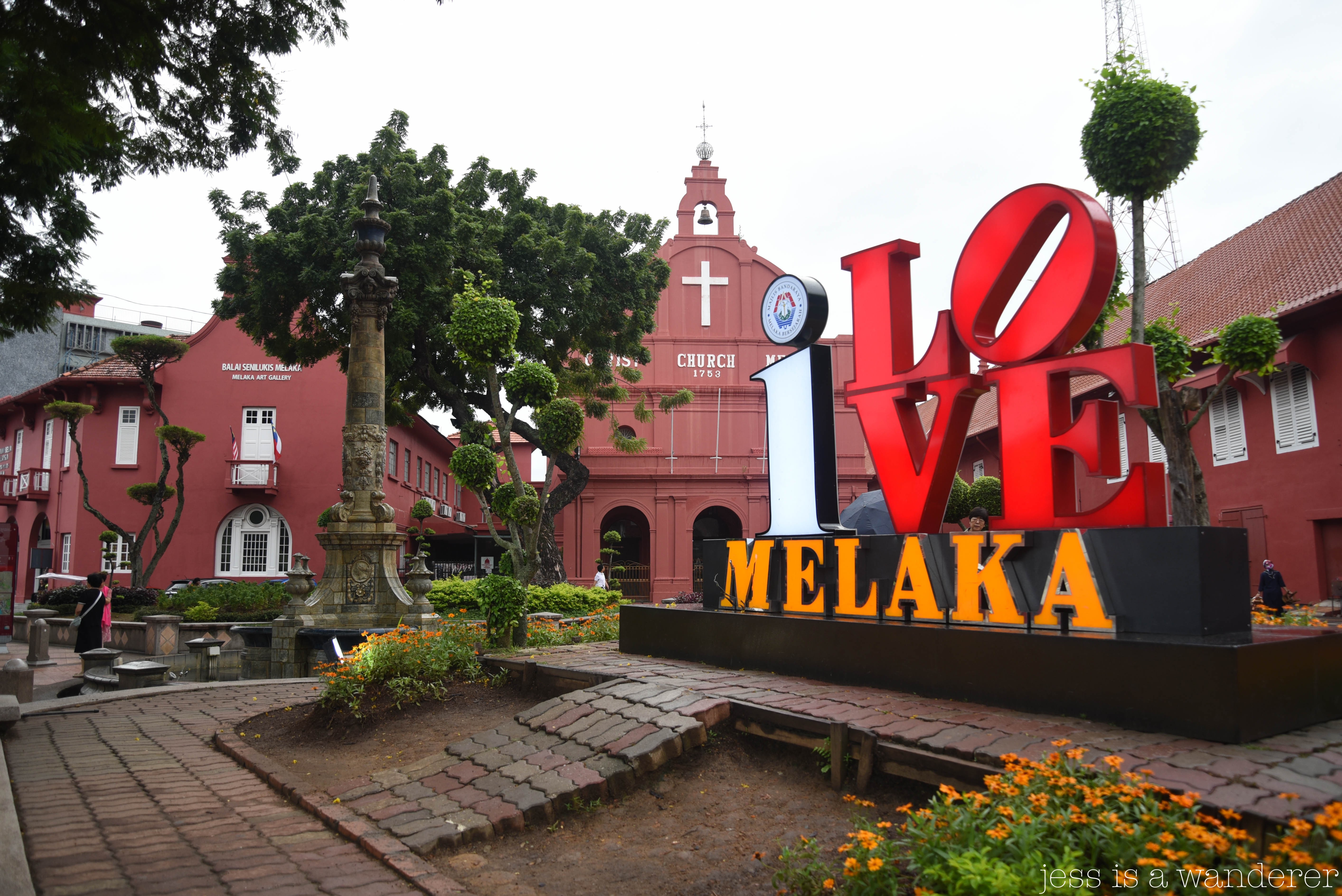 I Love Melaka Dutch Square