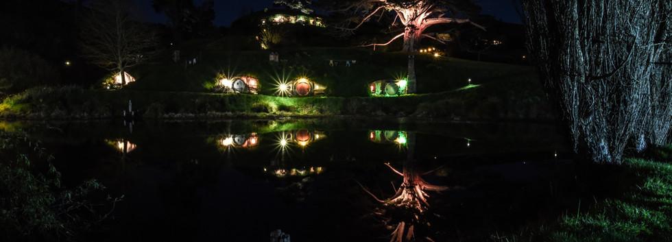 Hobbit Hole Reflections