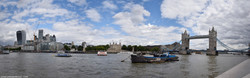 A Panoramic Tower of London