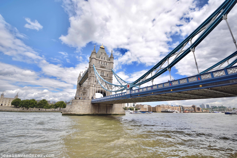 Under Tower Bridge