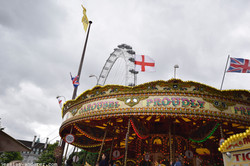 A Patriotic Carousel in Southbank