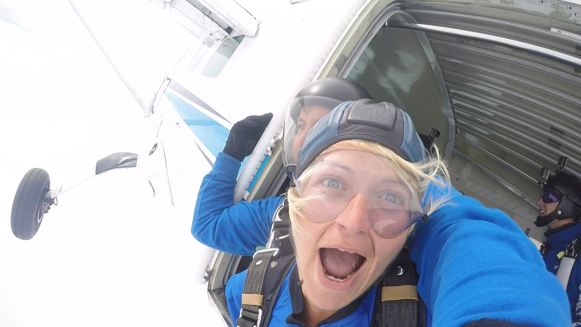 First ever Skydive