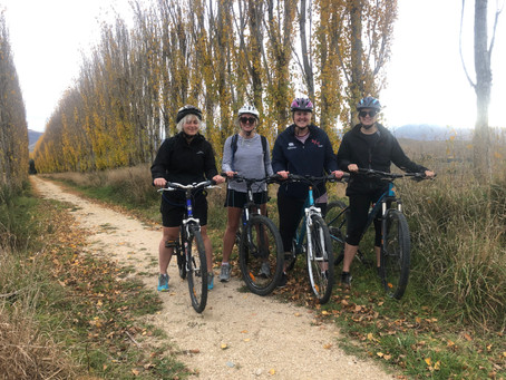 Jess is a Wanderer Cycling Duntroon to Kurow