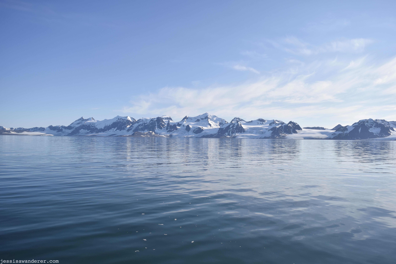 Mountains across the Ocean
