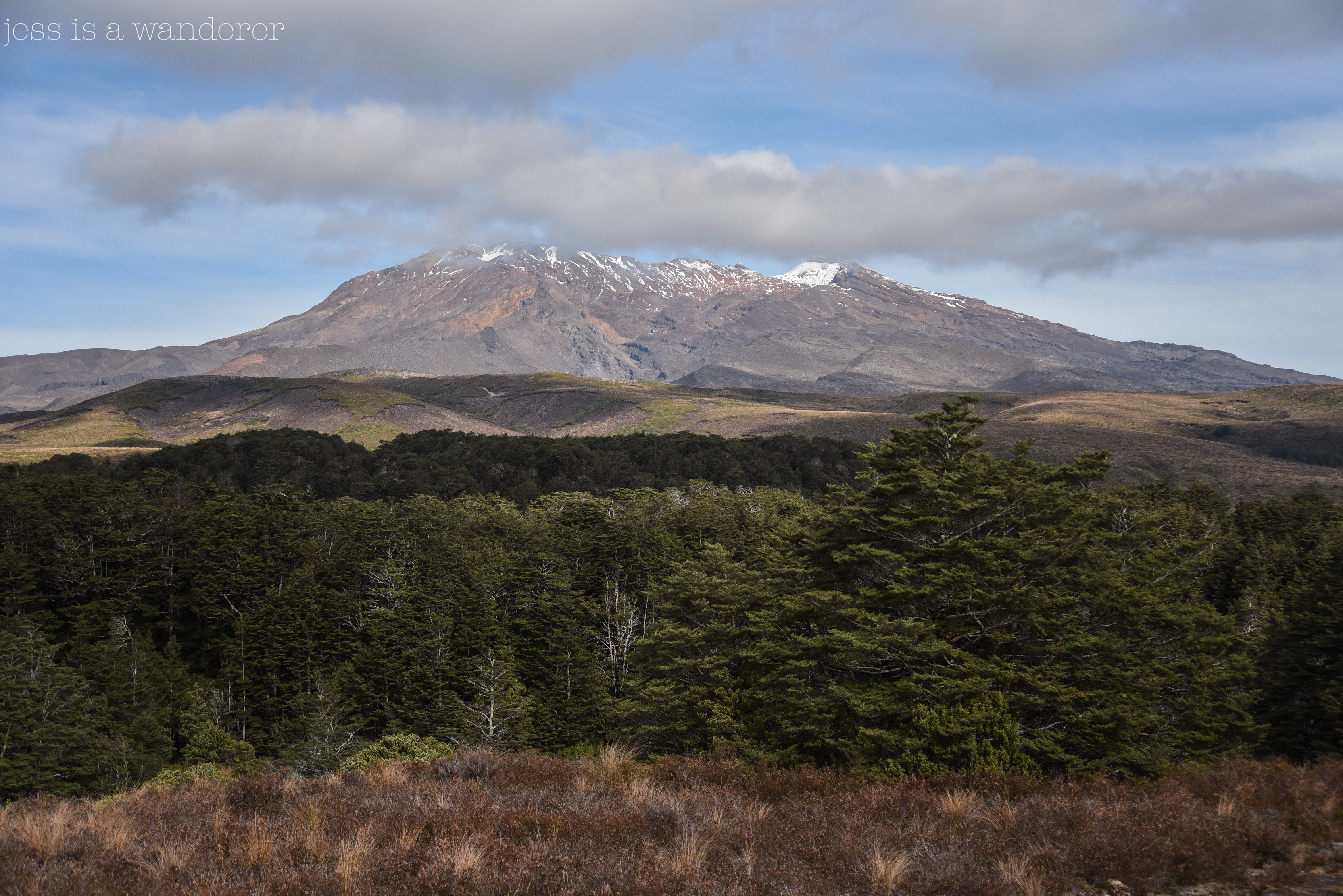 Ruapehu and Clouds