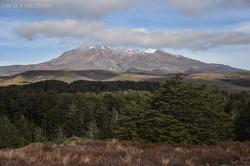 Ruapehu and Clouds