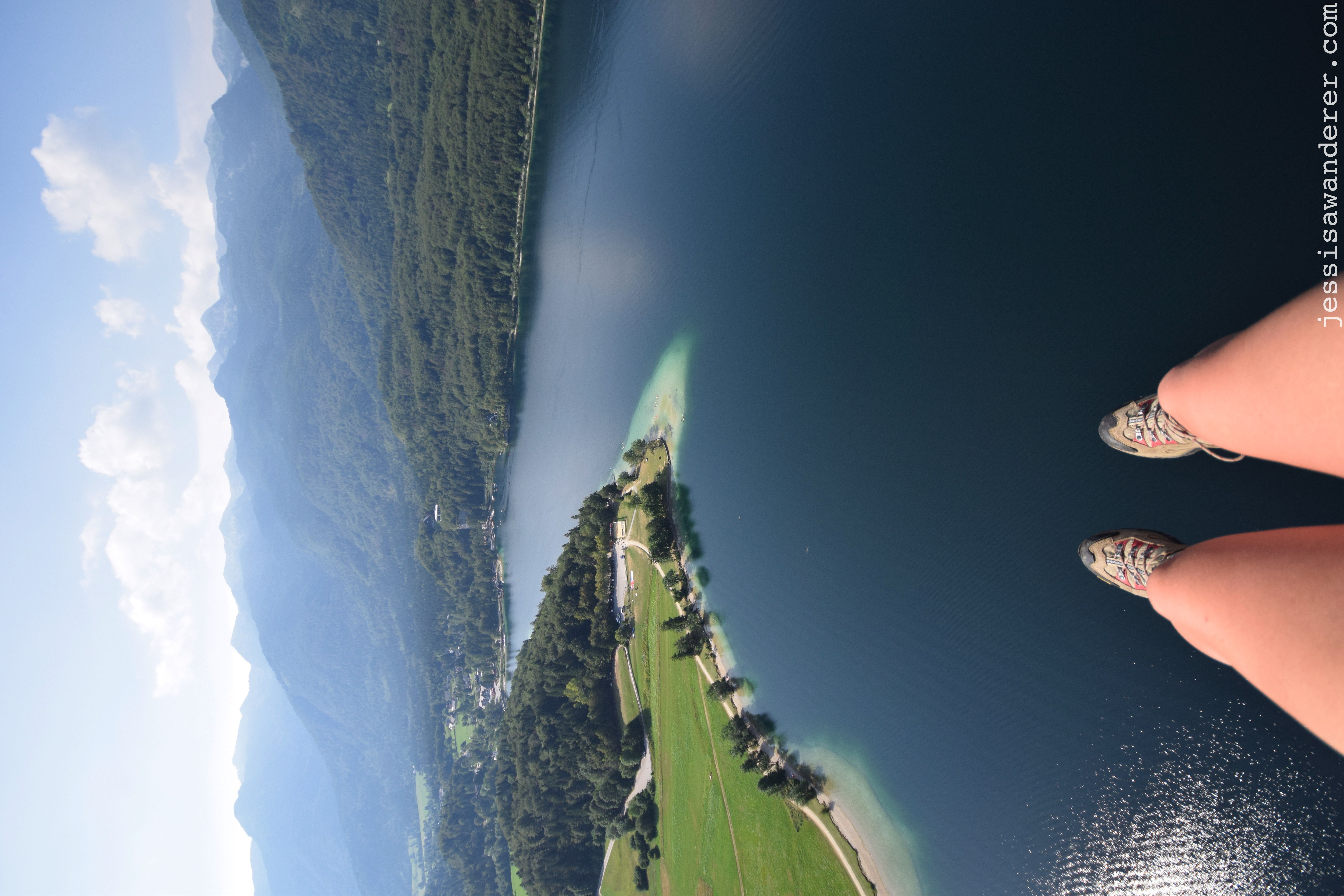 Legs over the Lake