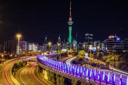 Auckland from Hopetoun Bridge