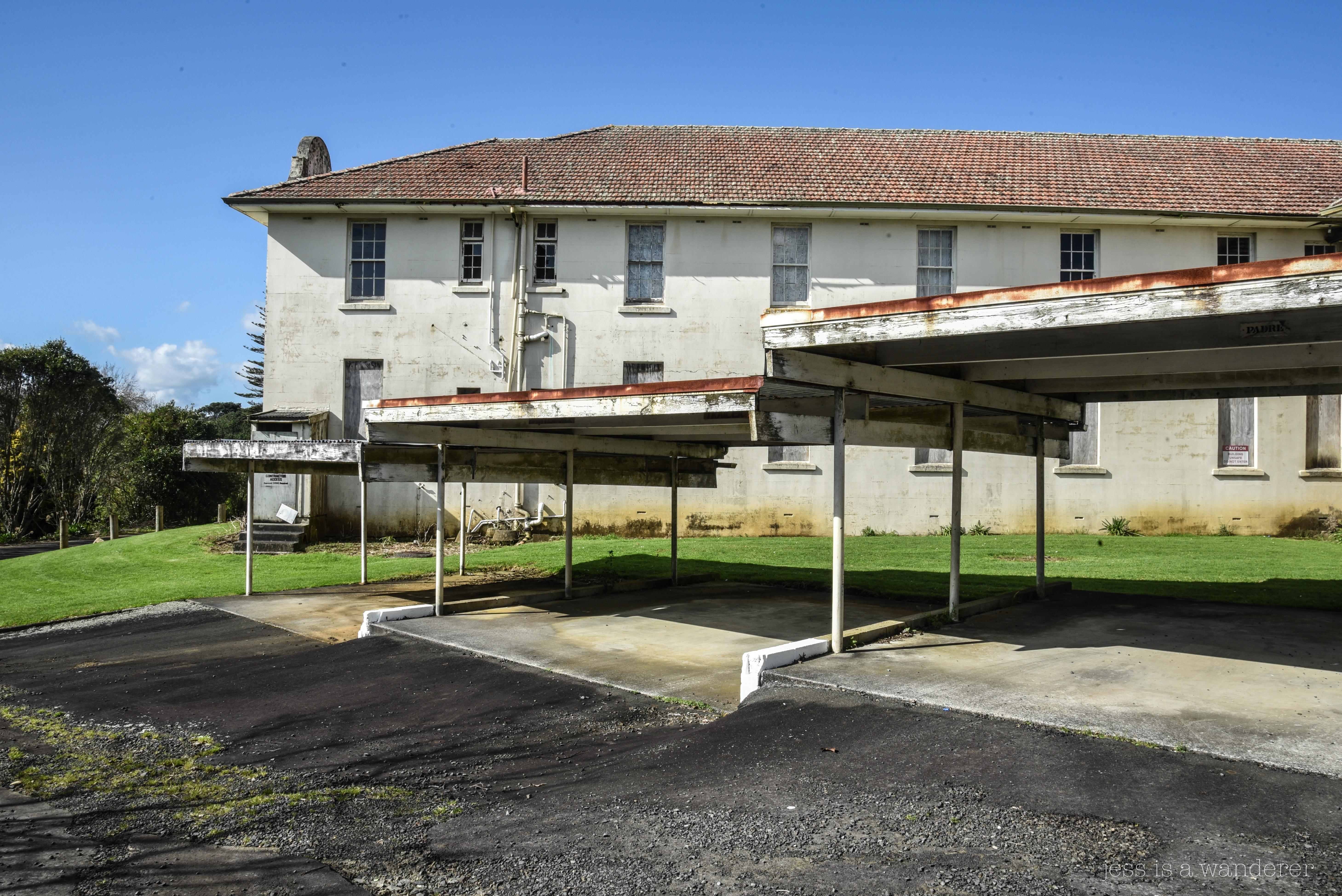 Former Car Port