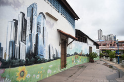 Skyscrapers on the Wall