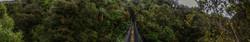 Swingbridge at Wangororo Hut or somewhere