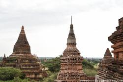 Stupas standing Tall