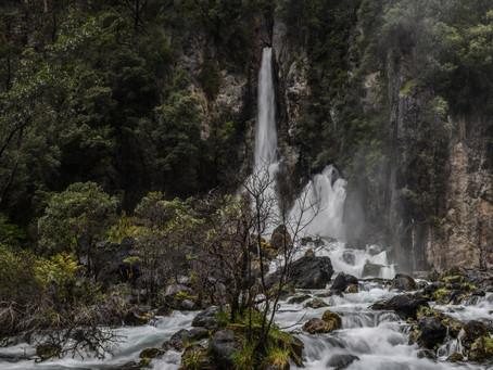 Jess is a Wanderer at Tarawera Falls