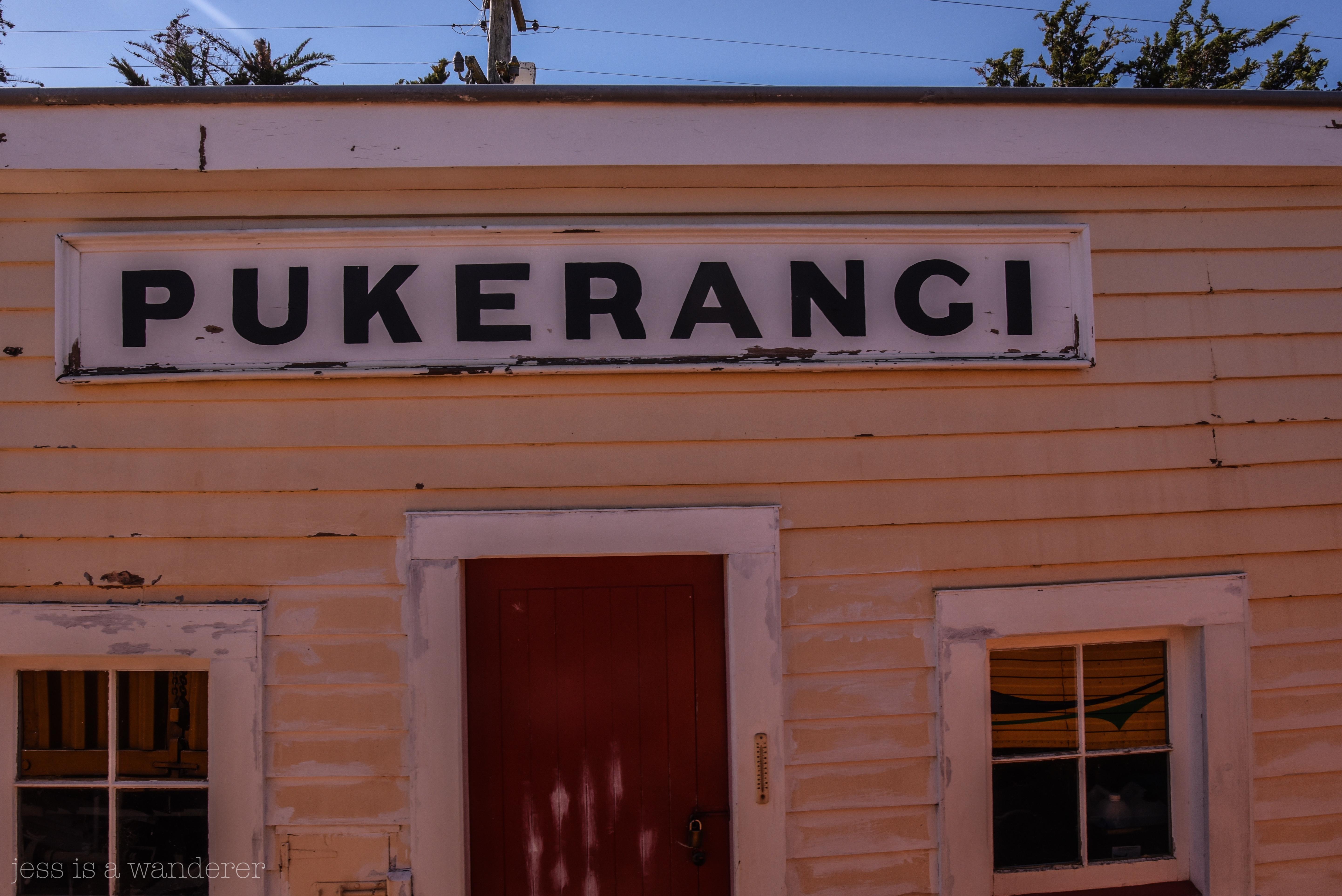 Pukerangi Station