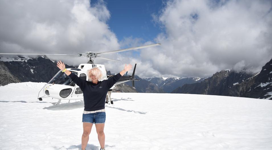 Me on the Glacier