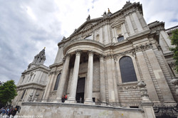 St. Paul's Cathedral from the Front
