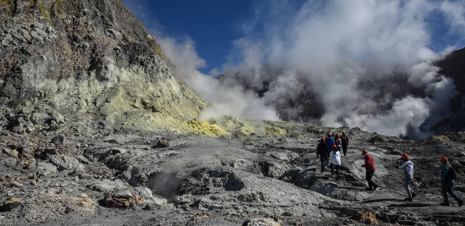 Yellow Sulphur Rock
