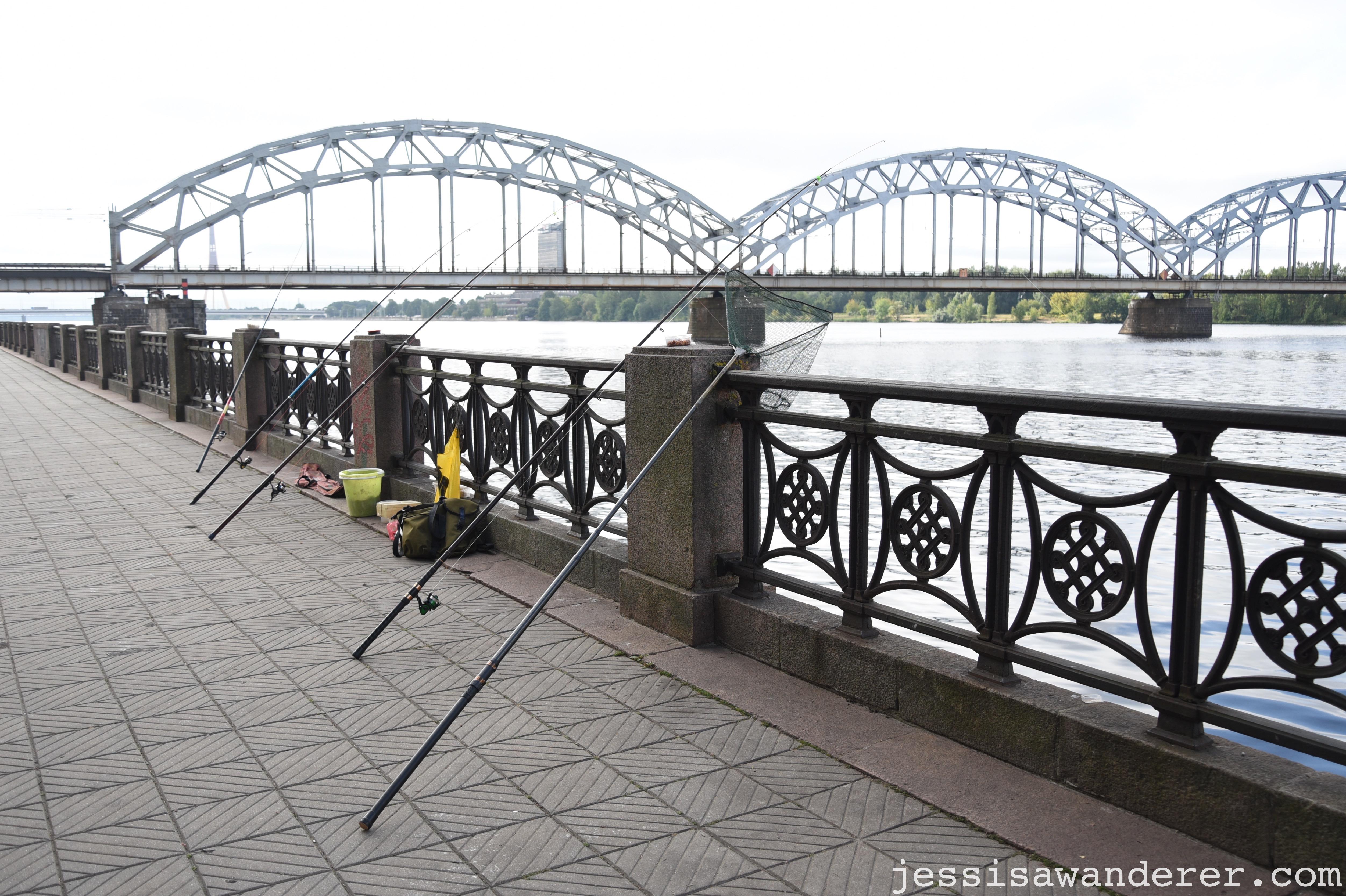 Fishing in the Daugava