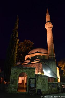 Nighttime Mosque