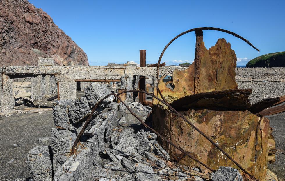 Sulphur Factory Ruins