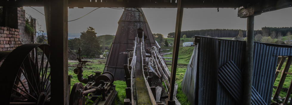 Looking Out from Inside the Mill