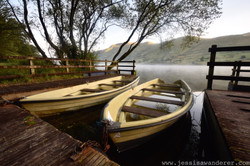 Abandoned Boats on the Lake