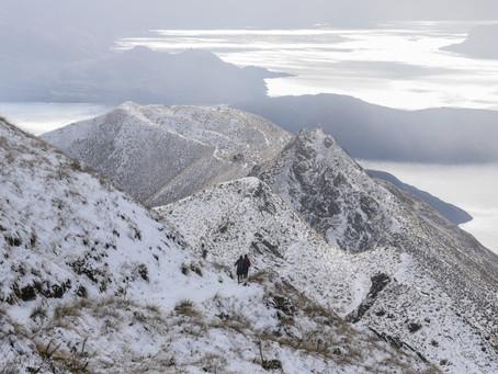 Jess is a Wanderer - Roy's Peak