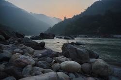 Sunrise over the Ganges