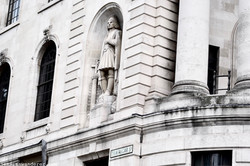 Detail on Admiralty Arch