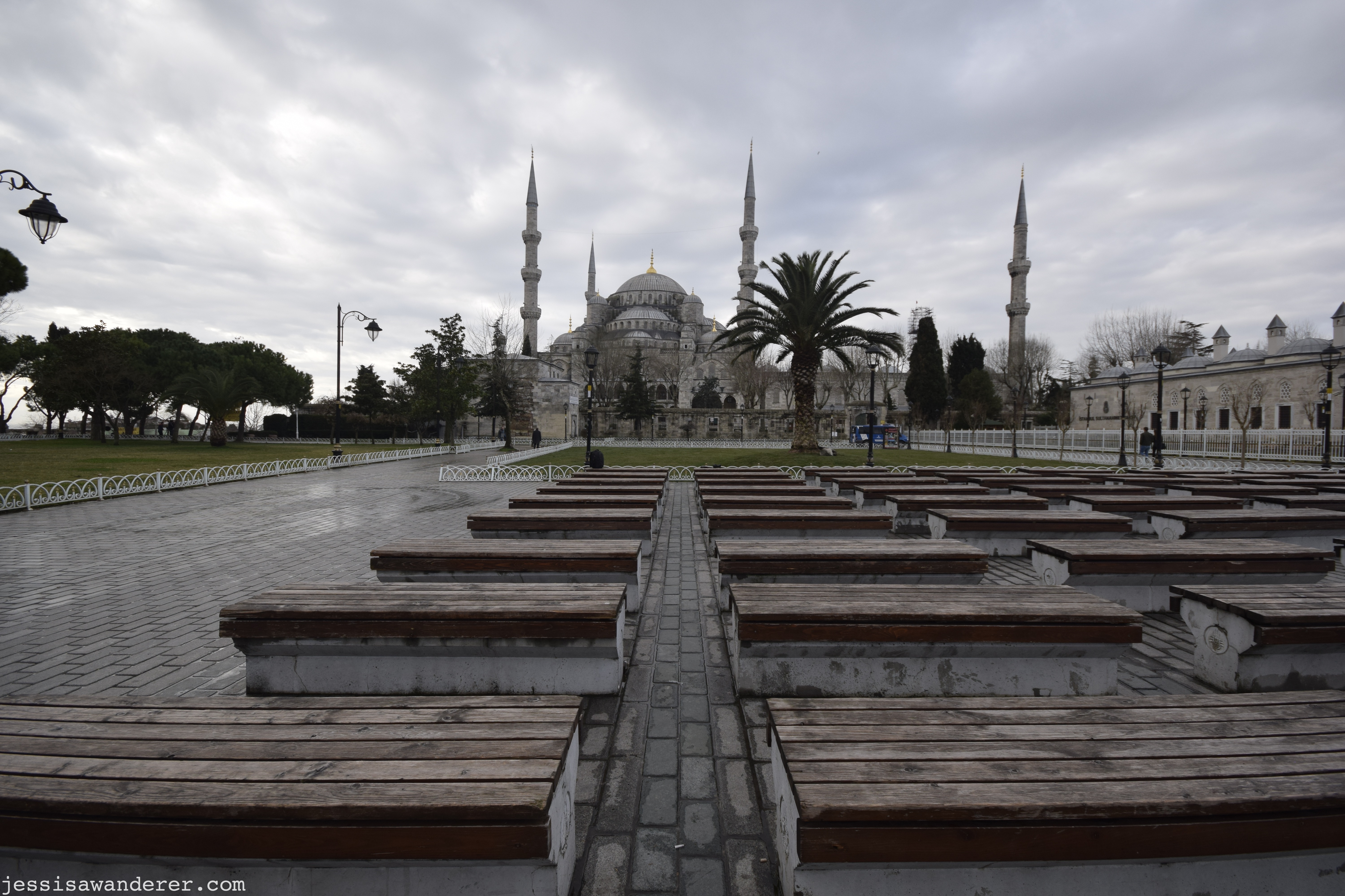 Blue Mosque Wide View