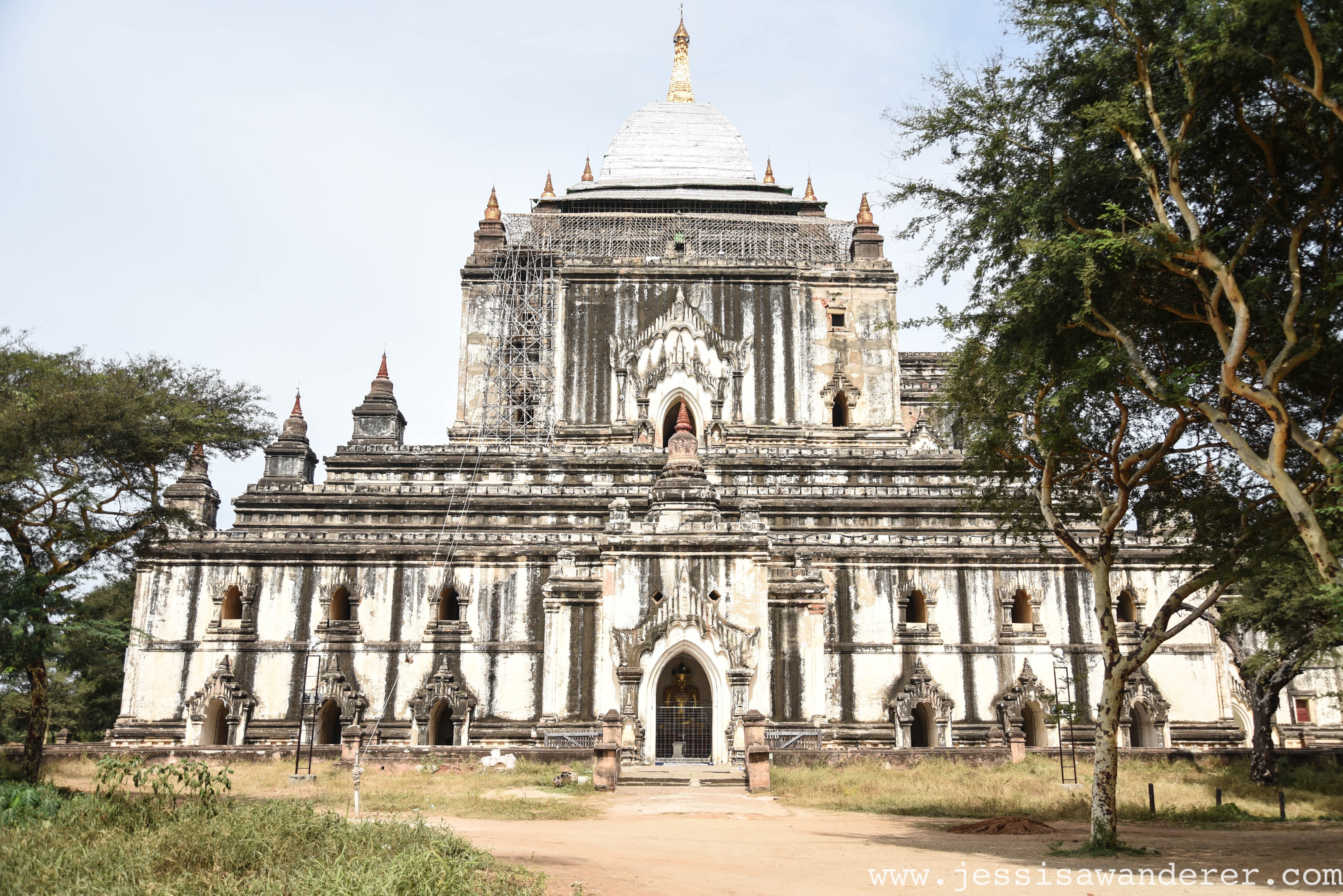 A White Temple