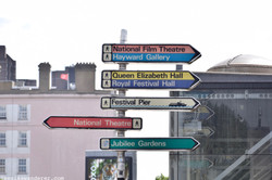 Colourful Signs at Southbank