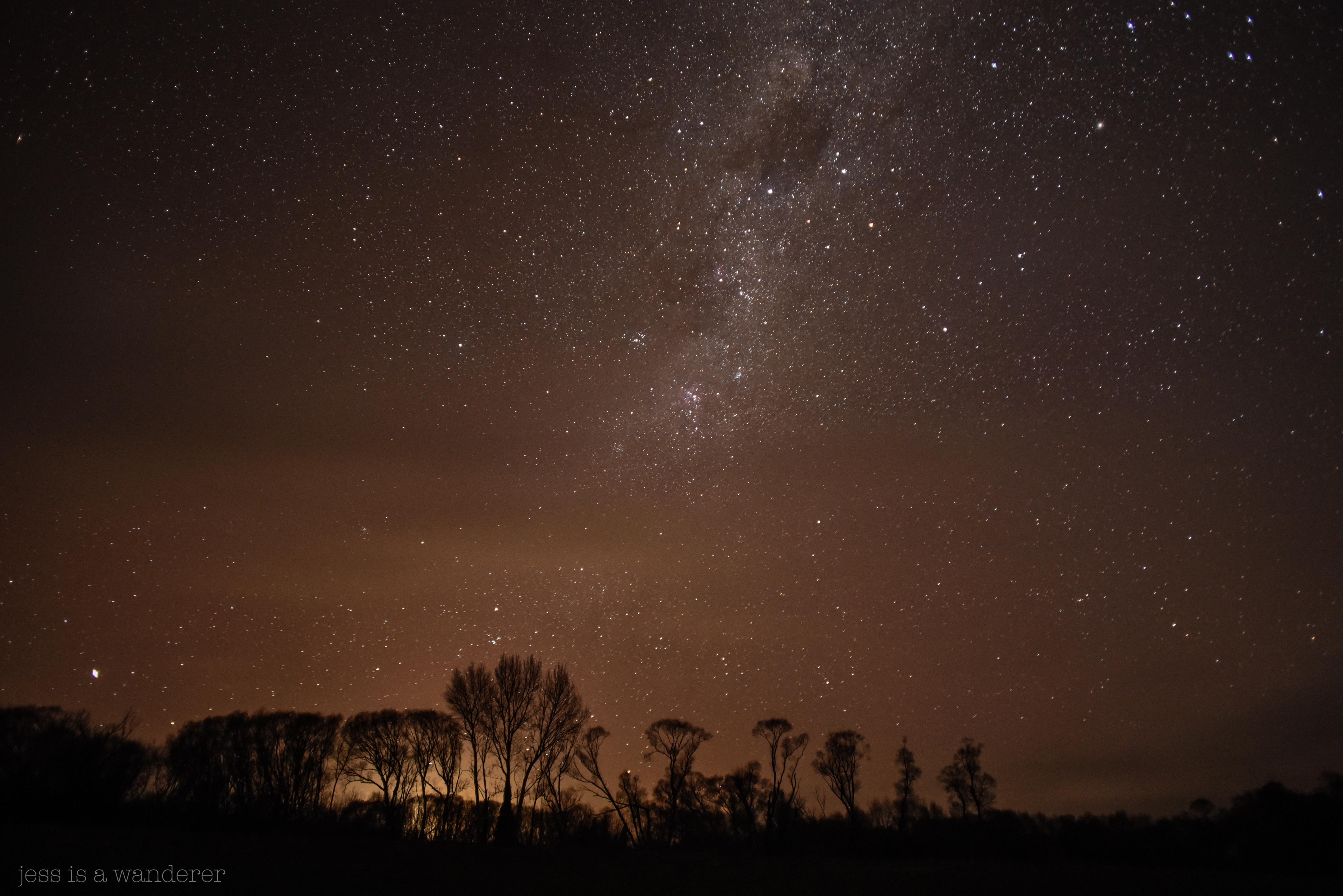 Light Pollution at Morven