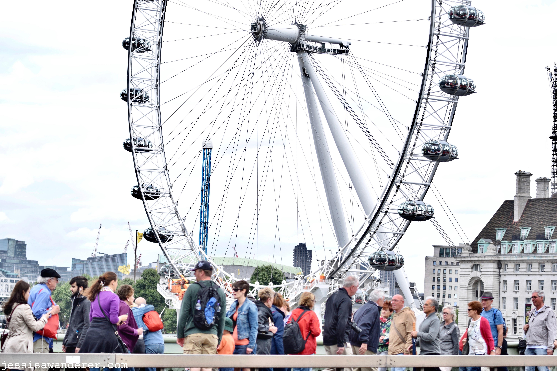 London Eye Busy-ness