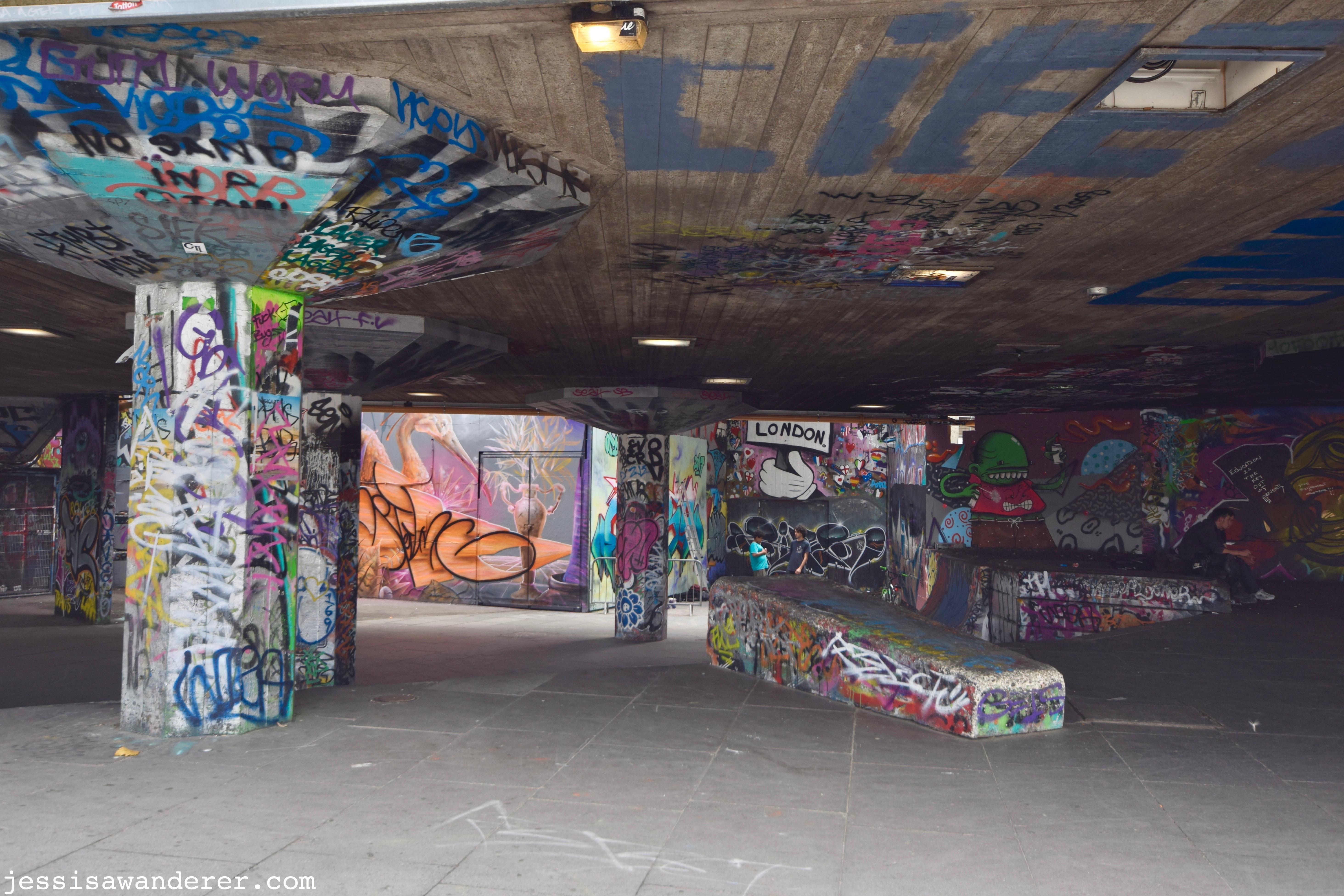 Graffiti Southbank