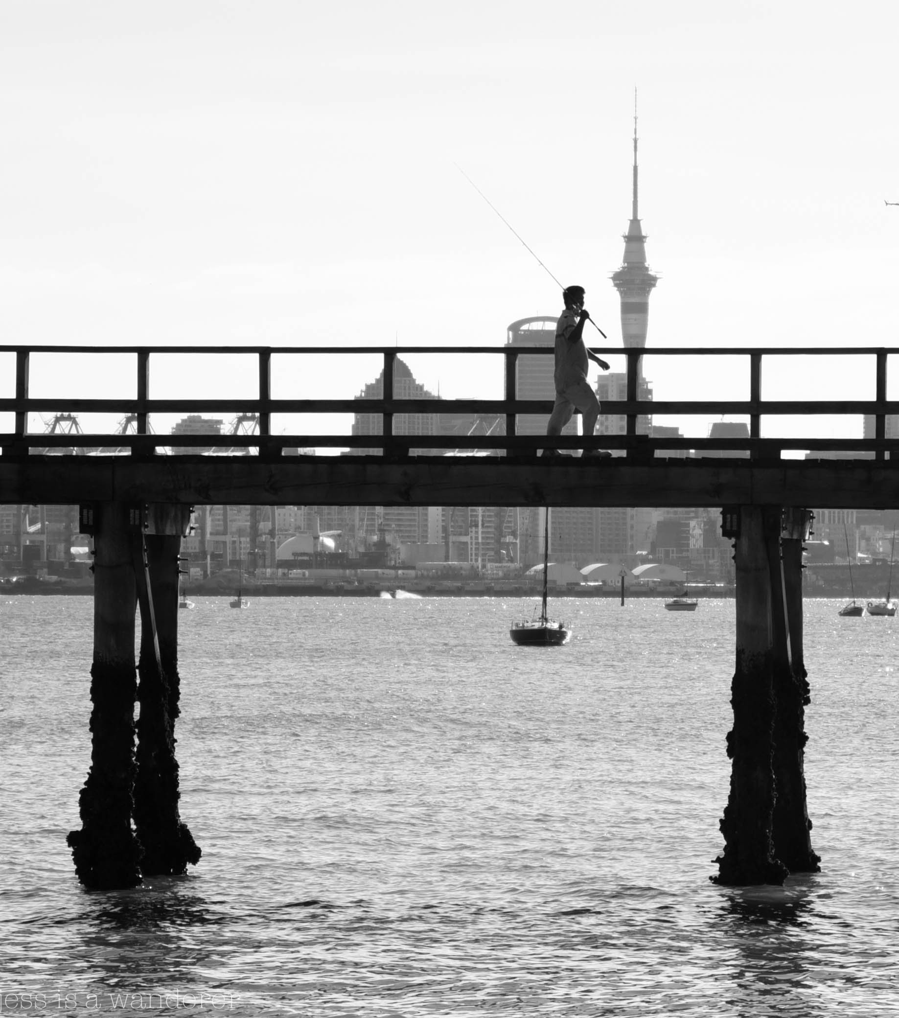 Fisherman on the Pier