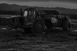 Truck in Black and White