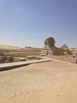 Sphinx from Afar